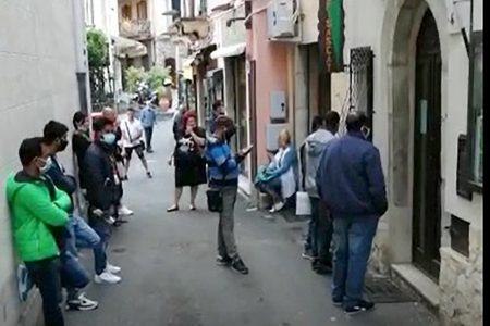 Da Taormina il grido d'allarme degli stagionali del turismo