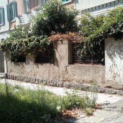 Il degrado di Via Cicerone, strada comunale diventata proprietà privata ed abbandonata