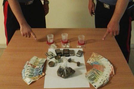 Minissale (Me) – Cocaina e marijuana in casa pronta per lo spaccio. Arrestate 4 persone
