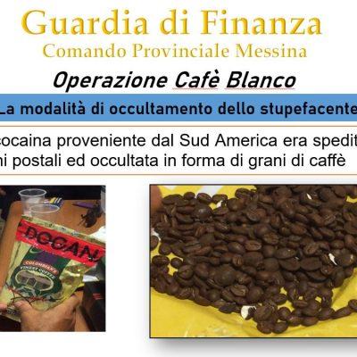 """Operazione """"Cafè Blanco"""", condannati quattro imputati, un'assoluzione"""