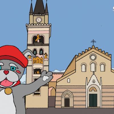 Il cartone animato di Caggiulino Sicanium arriva a Messina