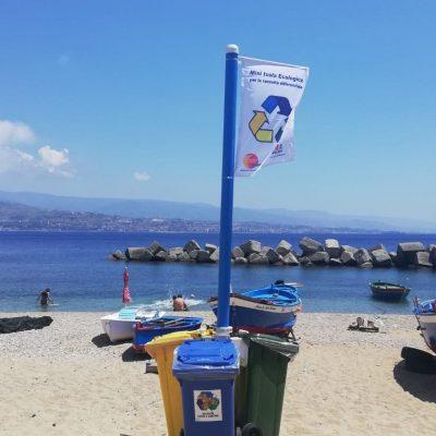 Mini discariche e vandalismo: Messinaservizi Bene Comune al lavoro sul Viale Giostra e Viale Gazzi