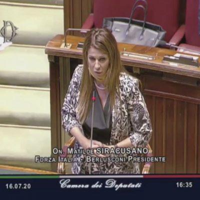 Migranti: Siracusano (FI) porta all'attenzione del Parlamento i disordini avvenuti presso l'ex caserma Gasparro