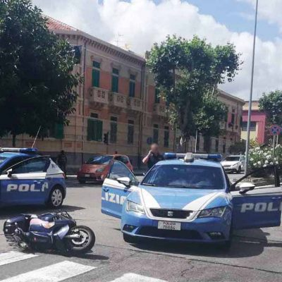 Evade dai domiciliari e tenta di scassinare Bar del centro di Messina. Arrestato durante la fuga