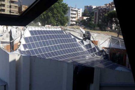 Reggio Calabria – Crollato tetto auditorium sede Consiglio regionale