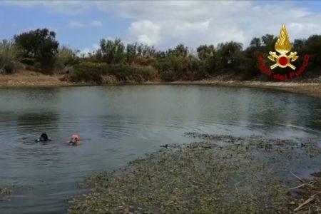 Scomparsa di Viviana Parisi e di suo figlio: i Vigili del Fuoco scandagliano laghetto e territorio circostante